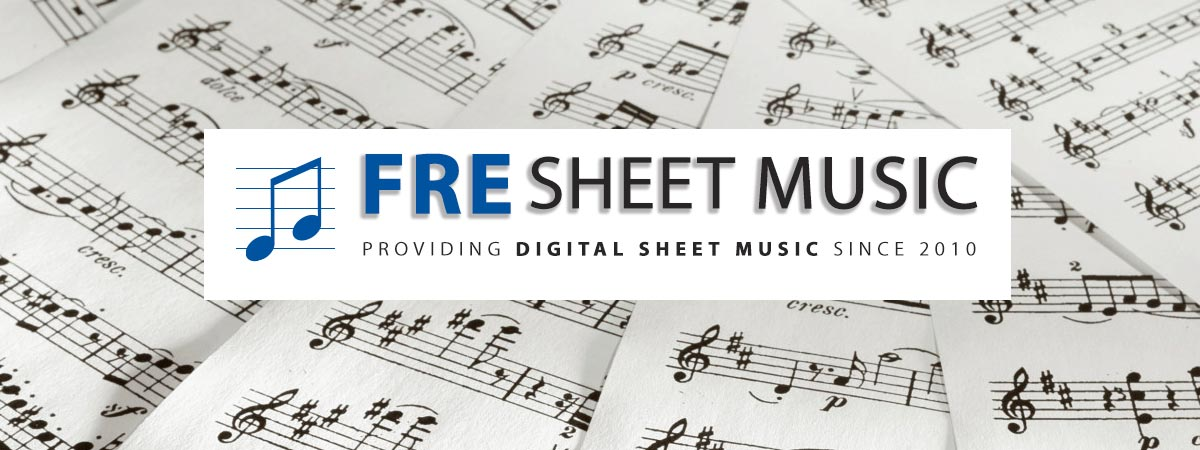 Download printable PDF Sheet Music Notes